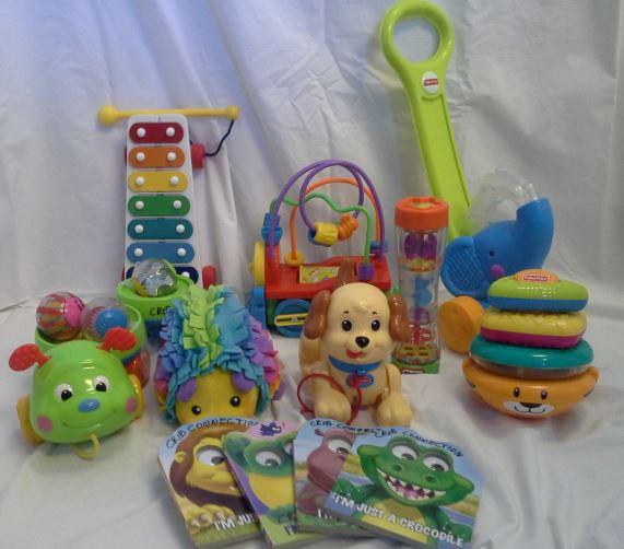 Age 12-24 mo. Box of Toys