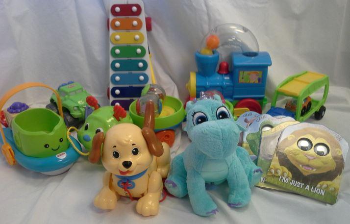 Age 24-36 mo. Box of Toys