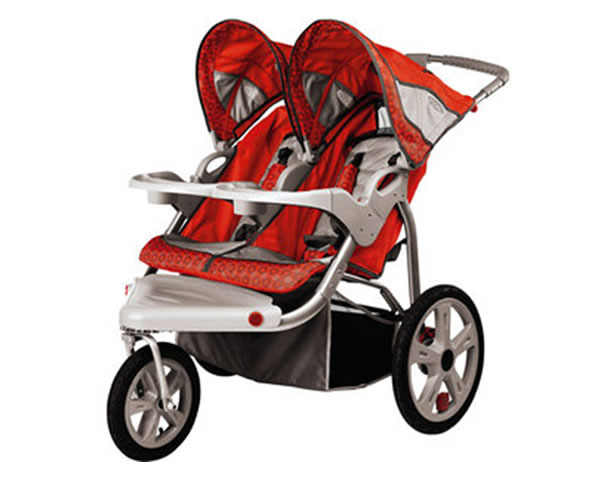 Double Jogging Style Stroller